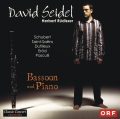 CD-Cover: David Seidel - Bassoon and Piano